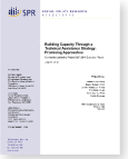 Evaluation of technical assistance strategy